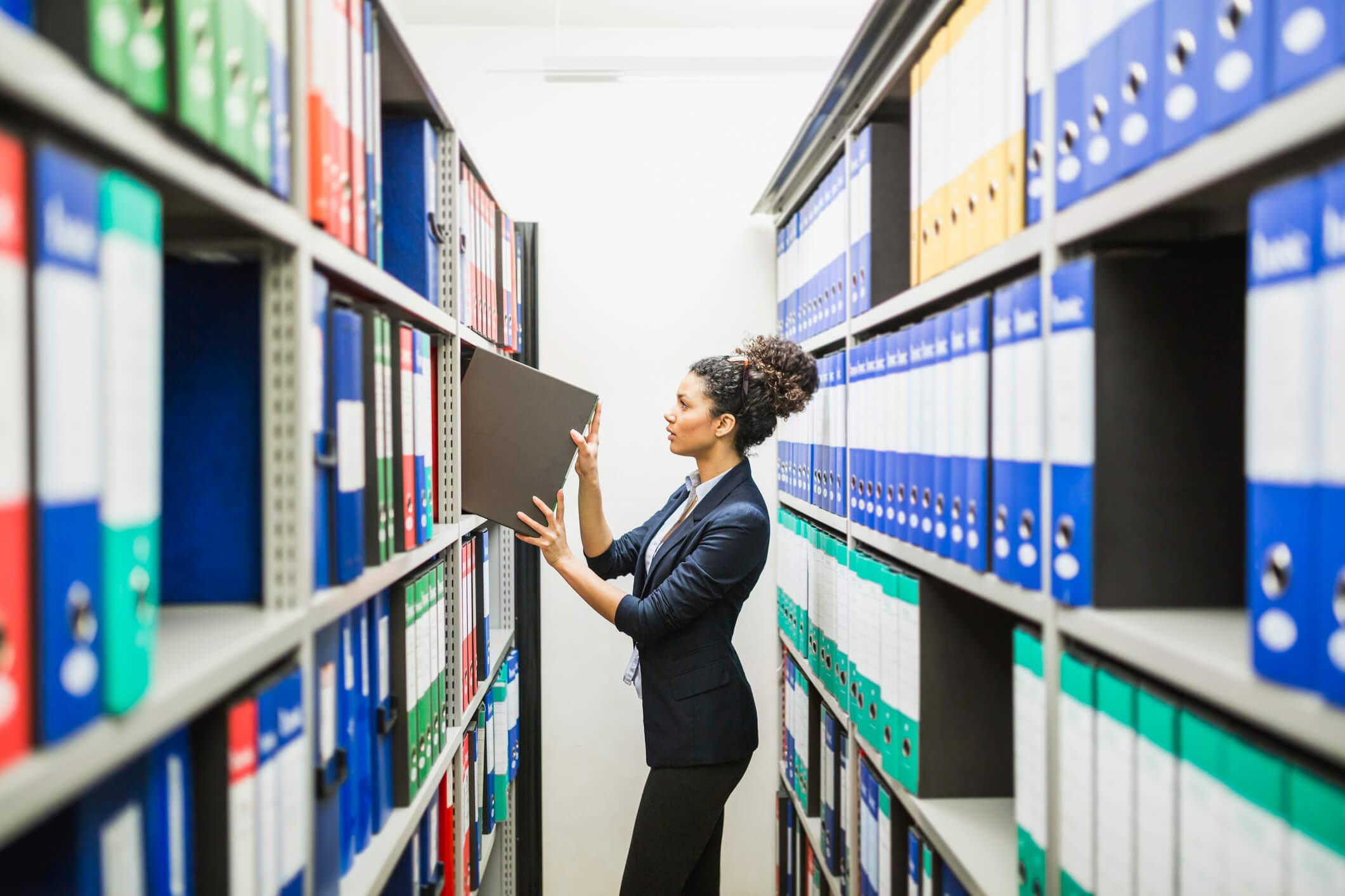 terceirização de guarda física de documentos